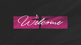 Painted Lent Welcome