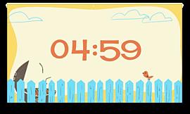 Retro Dad Countdown