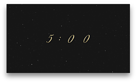 Silent Night Countdown One