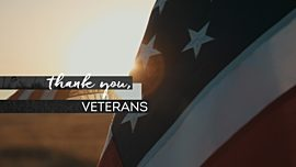 Thank You, Veterans