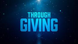 Through Giving