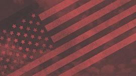 Vintage Patriotic Sky 03