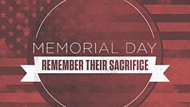 Vintage Patriotic Sky Memorial Day