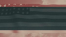 Vintage Waving American Flag 01