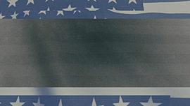 Vintage Waving American Flag 03