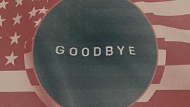 Vintage Waving American Flag Closing