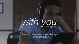 With You (I Feel Again)