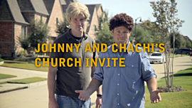 Johnny And Chachi's Church Invite