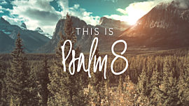 This Is Psalm 8
