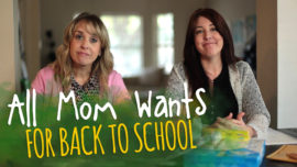 All Mom Wants for Back to School