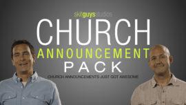 Church Announcement Pack