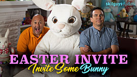 Easter Invite: Invite Some Bunny