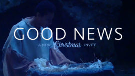 Good News Christmas Invite