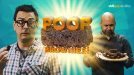 Poop Brownies