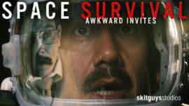 Awkward Invites: Space Survival