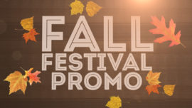 Fall Festival Promo