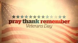 Pray Thank Remember (Veterans Day)
