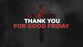 Thank You For Good Friday