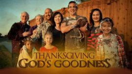 Thanksgiving: God's Goodness