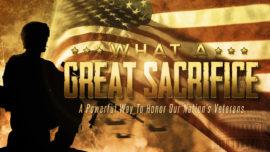 What A Great Sacrifice