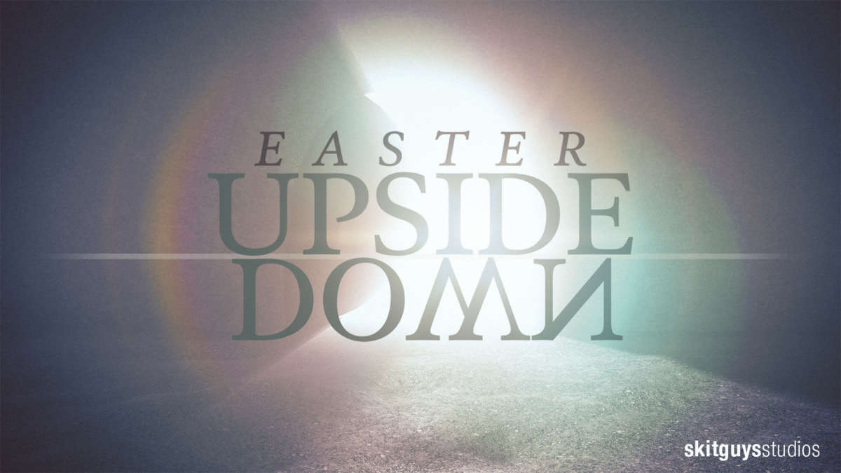Easter Upside Down
