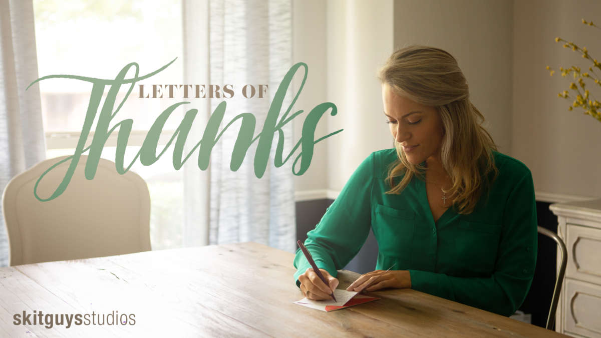 Letters of Thanks