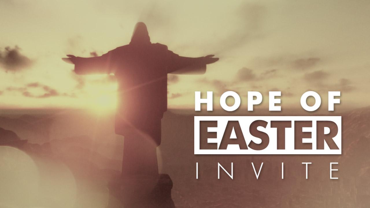 Hope Of Easter Invite